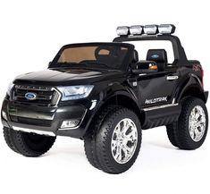Electric Ford Ranger Licensed 4WD 24V Battery Kids Jeep Pick-up USB/SD Seat Belt #ElectricFordRanger