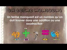 Capsule mathématique de Mélanie Tremblay sur les termes manquants. - YouTube Capsule, Fun Math, Service, Teacher, Youtube, Inspiration, Classroom, Organization, Professor