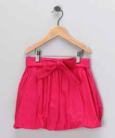 Take a look at this Pink Bubble Skirt - Girls by Dollhouse on #zulily today!