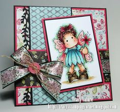 Tracy's Stamping Corner: Fairy wishes....