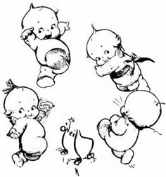 No automatic alt text available. Cupie Dolls, Kewpie Doll, Doll Drawing, Vintage Cartoons, 1 Tattoo, Baby Tattoos, Digi Stamps, Vintage Labels, Hand Embroidery