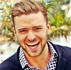 Justin Timberlake. That smile :)