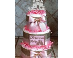 Diaper Cake DEPOSIT ONLY Prince or Princess by ShariKaysKreations