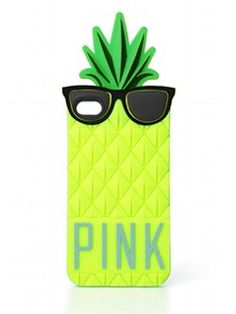 No more scratches! Meet the Pineapple iPhone® Case from Victoria's Secret PINK. Flaunt your PINK pride and protect your iPhone® day and night with this cute fruity phone case. Soft, stretchy rubber in a cheeky pineapple shape.