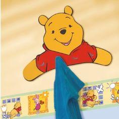 Garderobe Winnie the Pooh, 4 Haken 14