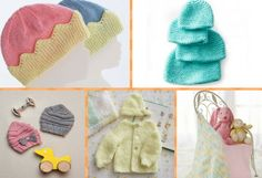 35 Free Knitting Patterns For Preemie Babies Free Knitting Patterns Uk, Baby Booties Knitting Pattern, Baby Hats Knitting, Baby Knitting Patterns, Baby Clothes Patterns, Baby Patterns, Prem Baba, Preemie Crochet, Knitted Baby Clothes