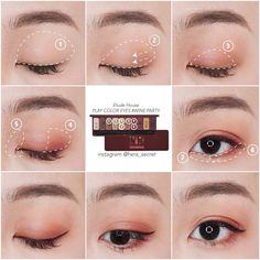 Most up-to-date Cost-Free makeup techniques asian Ideas , Korean Makeup Tips, Asian Eye Makeup, Korean Makeup Tutorials, Foundation Makeup, Ulzzang Makeup, Beauty Make-up, Asian Eyes, Makeup Techniques, Aesthetic Makeup