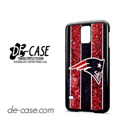 England Patriots NFL Logo Glitter DEAL-3965 Samsung Phonecase Cover For Samsung Galaxy S5 / S5 Mini