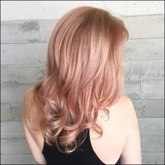 40 Gorgeous Rose Gold Hair Color Ideas For You – Page 39 of 40 - Haarfarben Ideen Rose Gold Blonde, Rose Gold Hair, Blonde Pink, Blonde Hair, Rose Hair Color, Hair Color For Black Hair, Hair Color Balayage, Hair Highlights, Gold Hair Colors