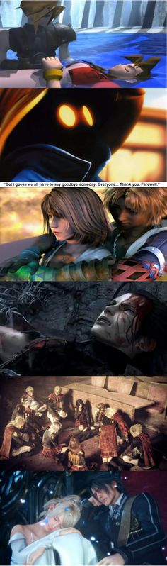 Sadness level : Final Fantasy