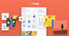 Lingo is the best way to organize, share and use all your visual assets in one place - all on your desktop.