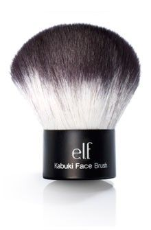 I LOVE THIS BRUSH!  Kabuki brushes really make a difference when applying powders - they pick up a lot of product and evenly distribute them and for only $6, it is a staple in my makeup cabinet.