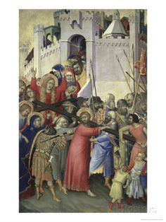 The Carrying of the Cross, c.1336-42 Simone Martini