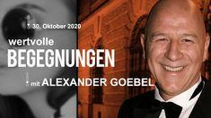 Alexander Goebel kommt ! Author, New Books, Actors