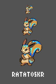 Ratatoskr Emote / Sprite we made for Smitewww.twitch.tv/smitegame