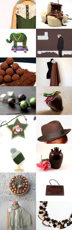 CHOCOLATE by Nuria on Etsy--Pinned with TreasuryPin.com