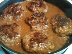 The Very Best Salisbury Steak Ever!