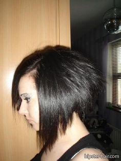 short straight bob hair