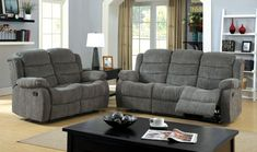 Created with simplicity and comfort in mind, the Walton Chenille Reclining Loveseat features an easy-to-use side latch system to activate the recliner seats while upholstered entirely in a soft chenille fabric. Available in two warm colors, this loveseat offers just the right amount of traditional appeal to fit into any home.