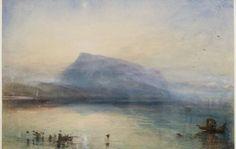 J.M.W.Turner「The Blue Rigi, Sunrise」(1842)
