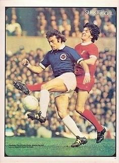 Leicester City 0 Liverpool 0 in March 1974 at Old Trafford in the FA Cup Semi Final. You'll Never Walk Alone, Retro Football, Walking Alone, Old Trafford, Semi Final, Fa Cup, Liverpool Fc, Leicester, The Past