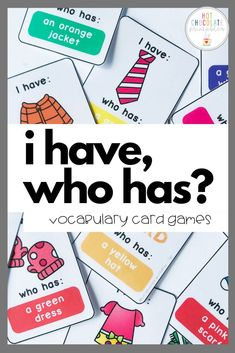 Fun Vocabulary Games for Kids