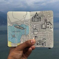 Lake Como Italy Mole