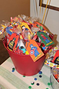 lego super hero birthday party