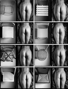 Chair Contact Series by Gabriele Basilico (1984)