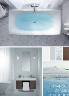 Escale BubbleMassage Bath Stillness Bath Filler Traverse Vanity Whiling  Away Hours Or Days At The Seaside Can Be Dramatically Reinvigorating.