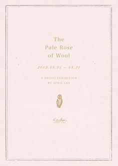 The Pale Rose of Wool ++ april lee