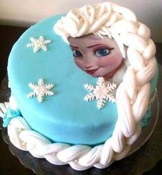 Bolo da Elsa: 80 Modelos Fantásticos Para se Inspirar! Bolo Elsa, Bolo Frozen, Birthday Cake, Baking, Disney Princess, Character, Frozen Party, Blue And White, Cake Ideas