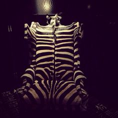Zebra Hide Wingback Chair  ! Great zebra hides /skins from Zebrakho.com can transform into this ! How is this for luxury ?