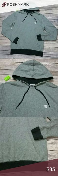 Element men's hoodie Brand new just no tags hoodie  Size m Color heather grey with black 60% cotton 40% polyester Element Shirts Sweatshirts & Hoodies