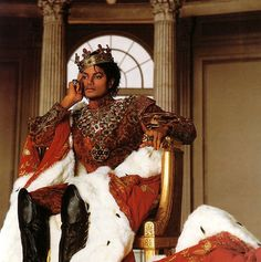 Michael Jackson...UNBOTHERED ROYALTY
