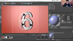 Amazing Glass Numbers Look In Cinema 4D