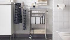 Bathroom trolleys and carts _ Bathroom_Bathroom-storage_GRUNDTAL-Cart-stainless-steel