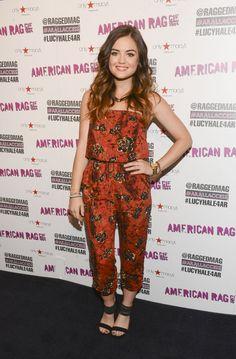 Pin for Later: Diese Woche dreht sich alles um den Ausschnitt Lucy Hale Lucy Hale bei 'Macys for American Rag's All Access'-Kampagne.