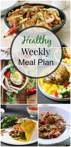 Healthy Weekly Meal Plan #5 | Simply Fresh Diners