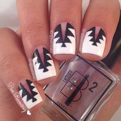 Spiked Nail Design