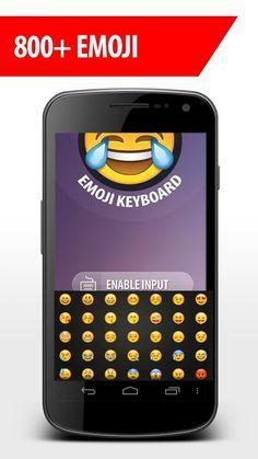 Emoji Keyboard - Latest new collection of emoji, smileys and other symbols.  https://play.google.com/store/apps/details?id=com.emojikeyboard.coloremoji&hl=en