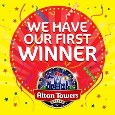 Congratulations Hannah Carole Smith, our first theme park ticket winner - you're off to Alton Towers! If you fancy the chance of winning some theme park tickets, visit our Facebook page and tell us which Starslush attraction you'd love to visit!