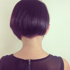 Bob haircut perfect for winter! Looks great with cow neck sweaters!