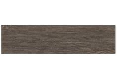 "Porcelain Tile - Woodland Series - Charcoal / 6""x24"""
