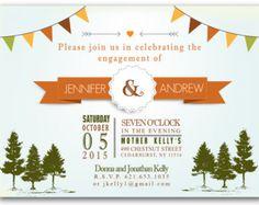 Woodlands Engagement - Engagement Party Invitations LINK