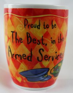 OCCUPATION MUG - ARMED SERVICES