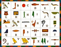 What are Ancient Egyptian Hieroglyphics? Definition of Ancient Egyptian Hieroglyphics: Hieroglyphics a system of. Images Alphabet, Alphabet Charts, Alphabet For Kids, Egyptian Alphabet, Egyptian Symbols, Ancient Egyptian Art, Egyptian Hieroglyphs, Ancient Aliens, Ancient History