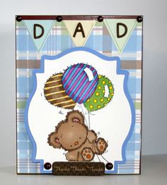 Adorable handmade DAD card perfect for Fathers Day