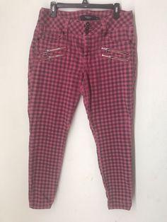 96873c797a0a3 Torrid Denim Plaid Stretch Women Pants Size 14  fashion  clothing  shoes   accessories  womensclothing  pants (ebay link)
