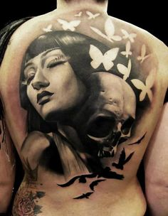 Best Tattoos Ever - Tattoo by Matteo Pasqualin - 01